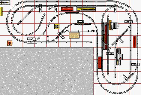 Atlas Ho Track Switch Wiring L Shaped Layouts For O Gauge Model Trains Train Layouts