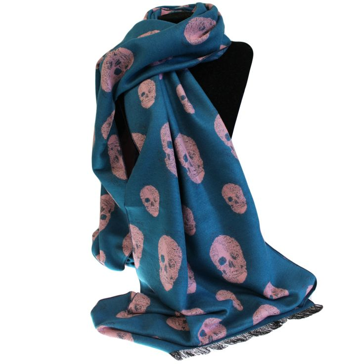 Unisex Skull Scarves £16.95 in 5 colour choices