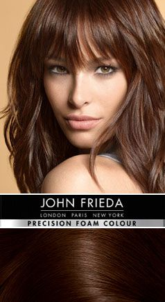 4BG Brilliant Brunette® Dark Chocolate Brown - Precision foam permanent colour shades | John Frieda®
