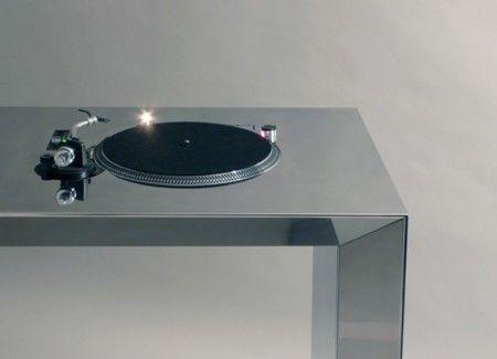 Dj Setup Table de mixage en acier Metrofarm