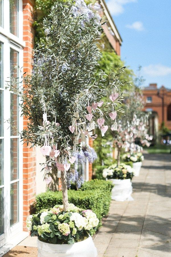 Real wedding pictures: A Temperley wedding dress at The Grove in Hertfordshire