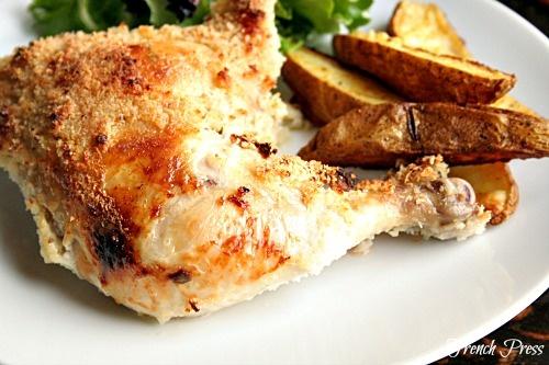 French Press: Crispy Parmesan Chicken