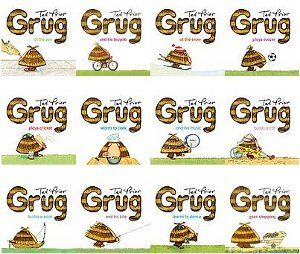 Grug collection books (H)