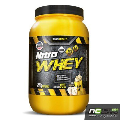 Nitro Whey é um alimento proteico composto por proteína isolada do soro do leite (WPI), proteína concentrada do soro de leite (Whey Protein Concentrate), e proteina hidrolizada de trigo (Glutamina peptídeos)matéria-prima elaborada com alta tecnologia e elevada concentração de aminoácidos, principalmente BCAAs, alem de proporcionar um mix de vitaminas do complexo B importantes para o metabolismos das proteinas e Boro, poderoso regulador dos hormonios naturais.
