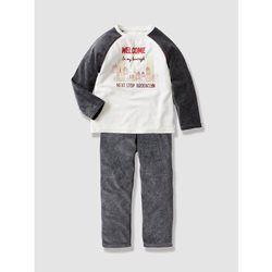 Pyjama garçon en velours VERTBAUDET