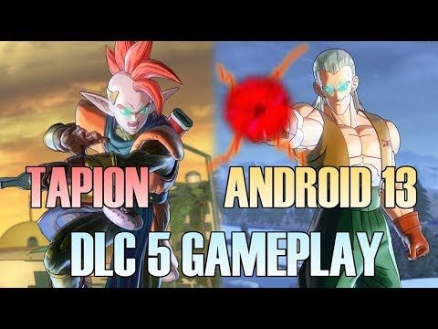 NEW TAPION VS ANDROID 13 DLC 5 GAMEPLAY! Rhymestyle vs AfroSenju | Dragon Ball Xenoverse 2 Rhymestyle