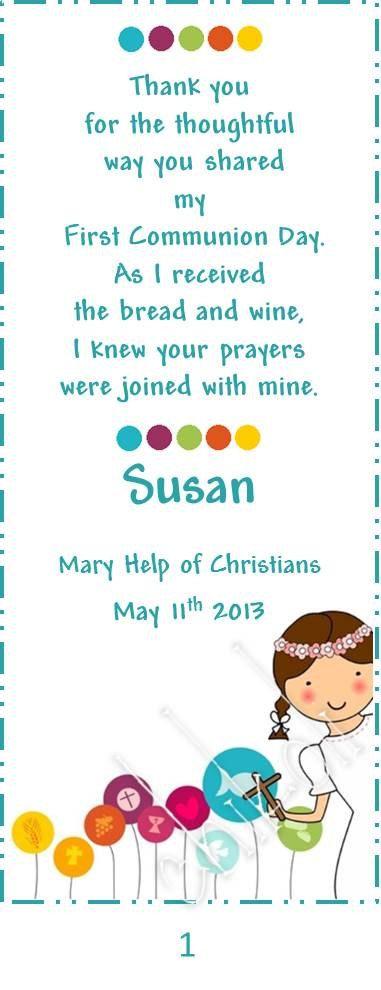 First Communion Favors  First Communion Bookmark  par Chikoli, $6.00