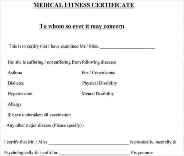 medical certificate template free word pdf documents download from doctor microsoft