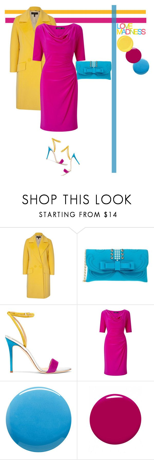 """Colourful"" by southindianmakeup1990 ❤ liked on Polyvore featuring ESCADA, La Fille Des Fleurs, Giuseppe Zanotti, Lauren Ralph Lauren, Lauren B. Beauty, Love Quotes Scarves, Guerlain, fashionset and polyvoreeditorial"