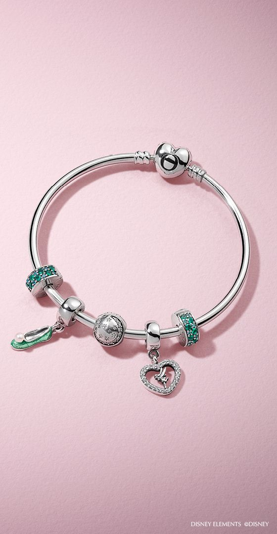98fb7f9e998 Love Tinkerbell? Build a bracelet inspired by your favorite fairy at ...