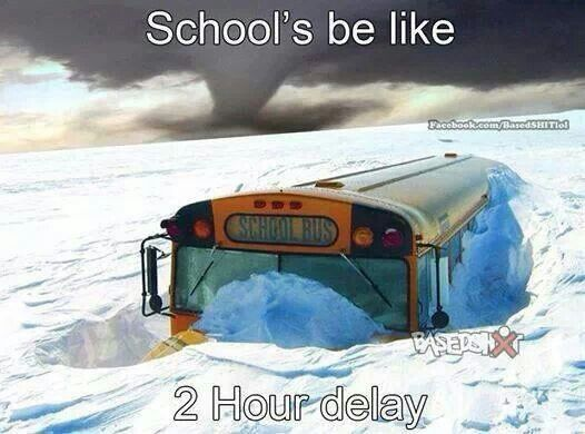 school's bus be like...                                                       …
