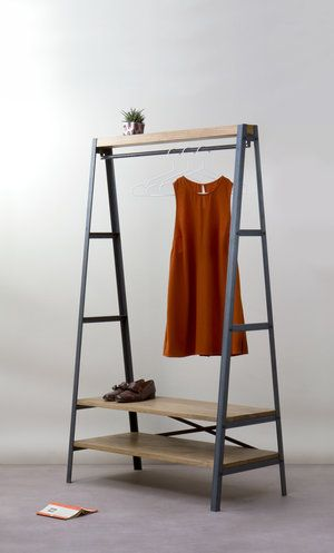 25 best ideas about clothes rail on pinterest wardrobe. Black Bedroom Furniture Sets. Home Design Ideas