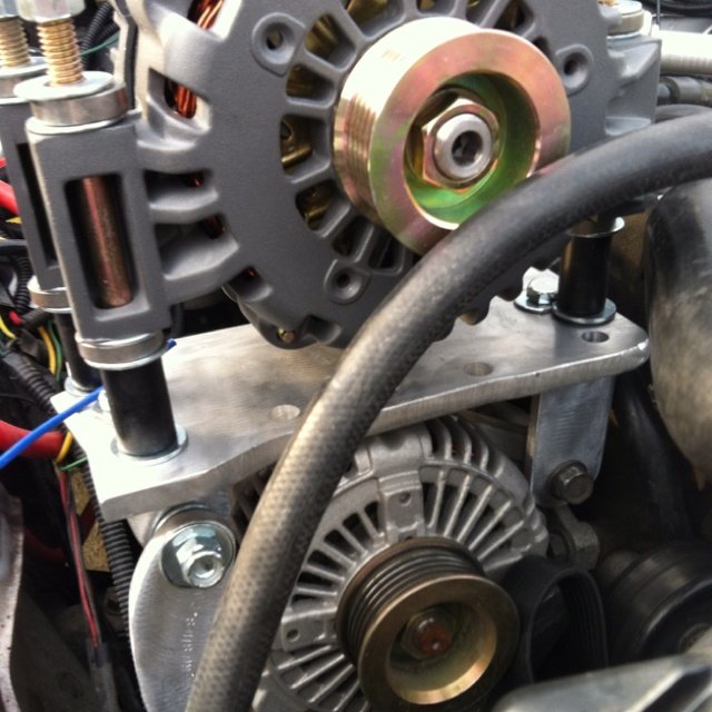 04 Jeep Wrangler 4 0 Inline 6 Custom Dual Alternator Set Up 200