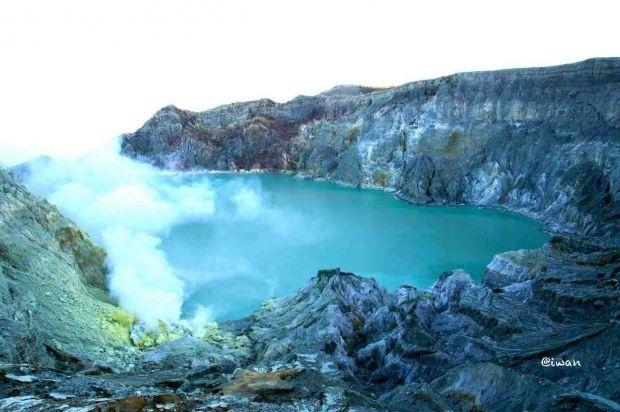 Tempat Gunung Ijen Atau Kawah Ijen