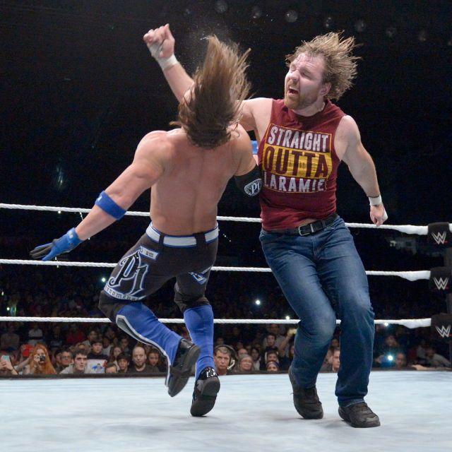 Dean Ambrose vs. AJ Styles ,WWE Live Event in Bilbao