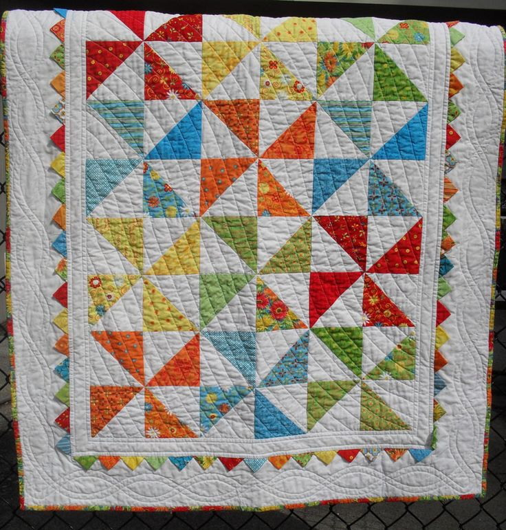 Free Patterns Using Charm Packs the pattern is a free moda pattern aptly called pinwheel baby ...