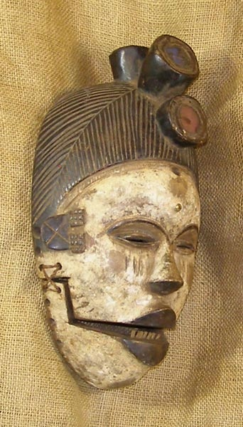 bakongo mask african tribe mask statue pinterest