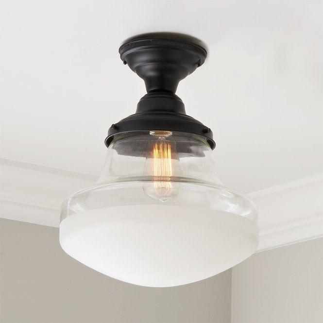 Retro Frosted Glass Ceiling Light Glass Ceiling Lights Ceiling Lights House Ceiling Lights