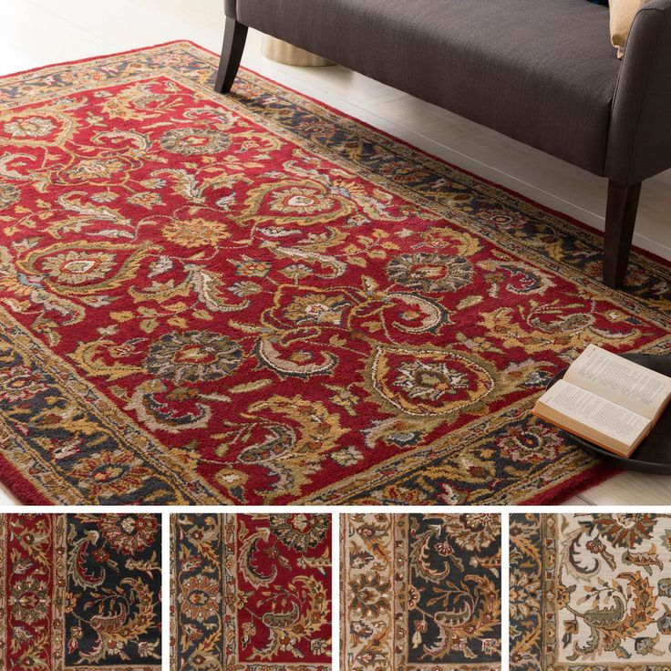 Wonderful Hand Tufted Artistic Weavers Alexa Traditional Wool Rug X   Overstock™  Shopping   Great Deals On Artistic Weavers   Rugs