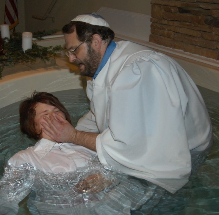 Image result for messianic jewish baptism