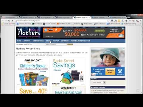 Website Review - Mothers Forum