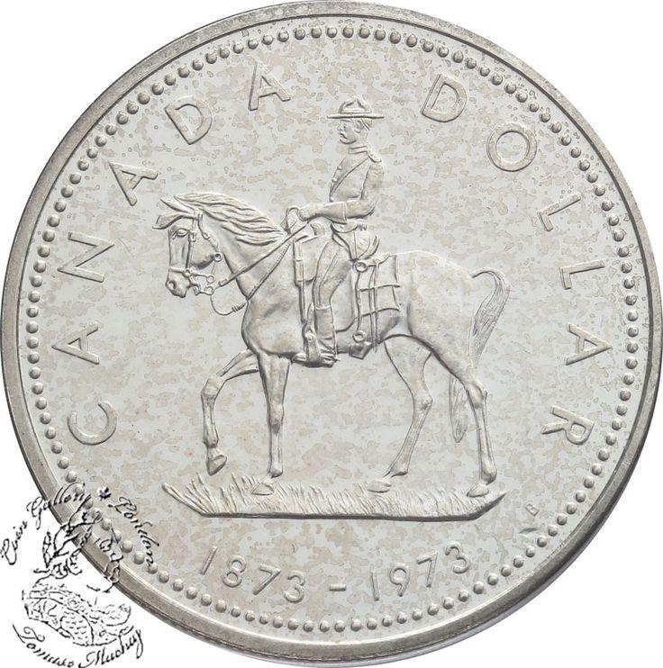 Coin Gallery London Store - Canada: 1973 $1 Royal Canadian Mounted Police Centennial Silver Dollar Coin, $15.00 (http://www.coingallerylondon.com/canada-1973-1-royal-canadian-mounted-police-centennial-silver-dollar-coin/)