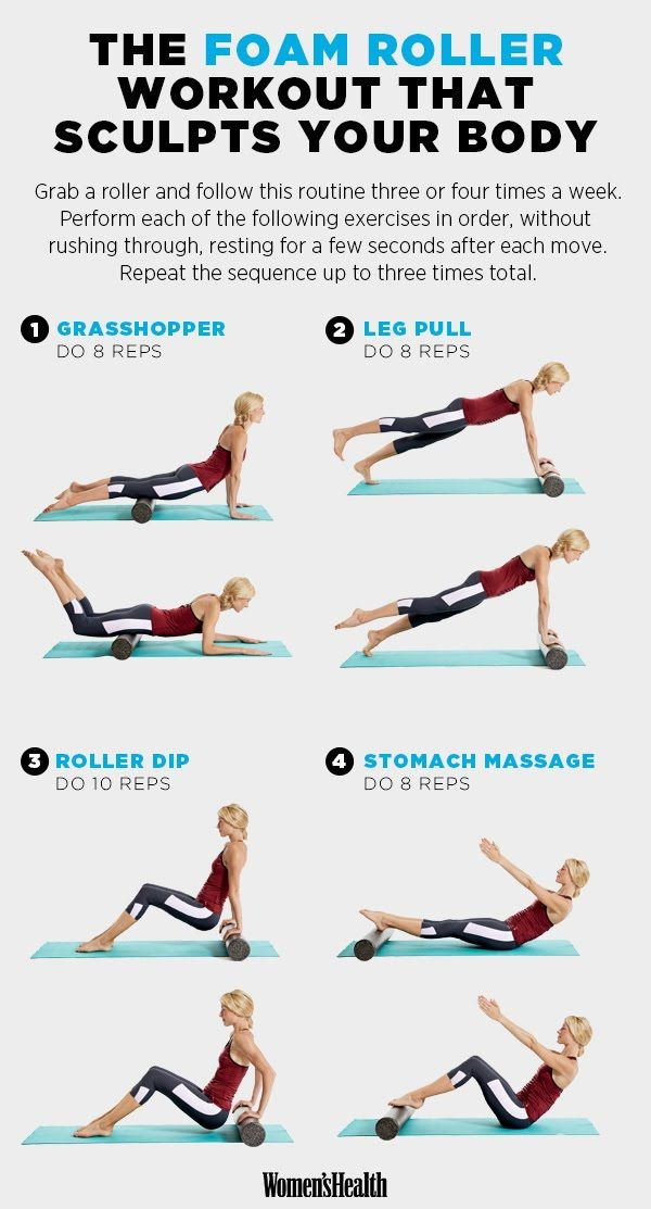 Sculpt a Slim, Taut Bod with This Do-Anywhere Workout   Women's Health Magazine