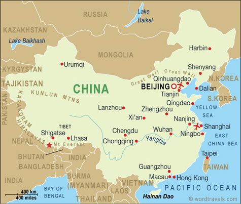The 25 best china map ideas on pinterest china destinations china map china travel maps from word travels sciox Image collections
