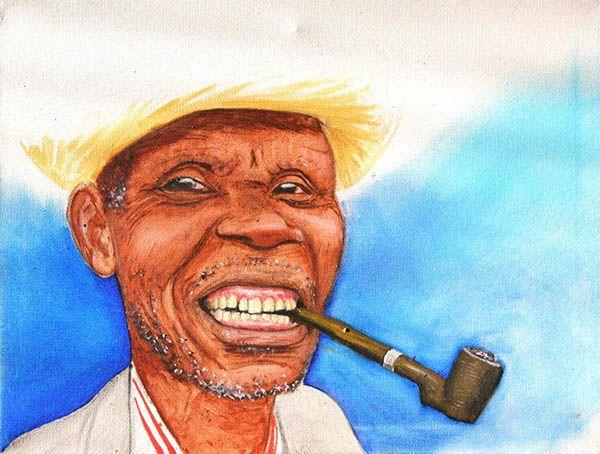 'Cuban' · 30x40cm · oil on canvas · © Sander Van Stijn · 2010