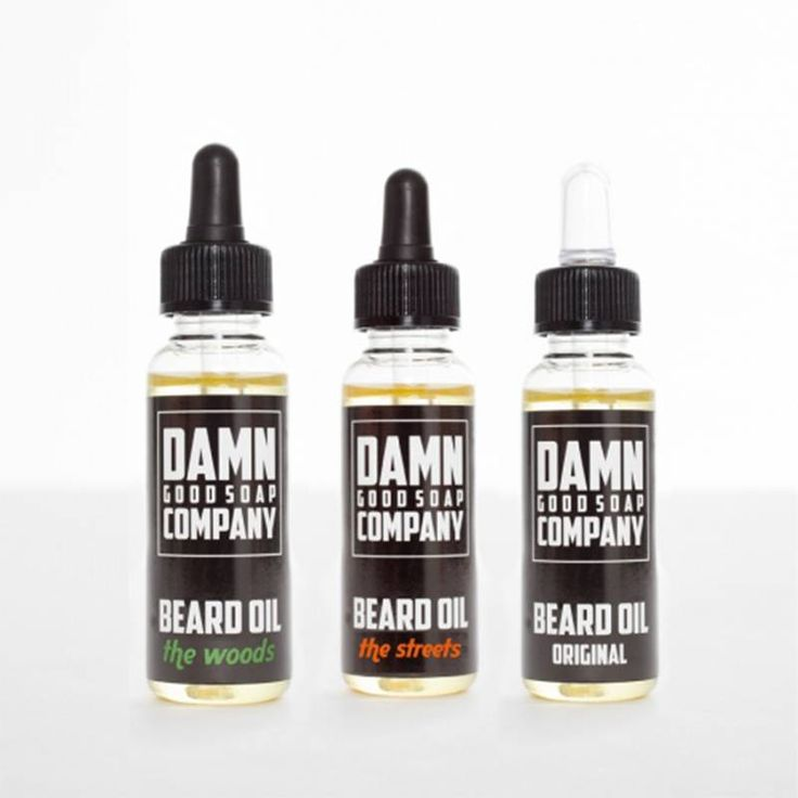 Damn Good Soap Beard Oil Trio