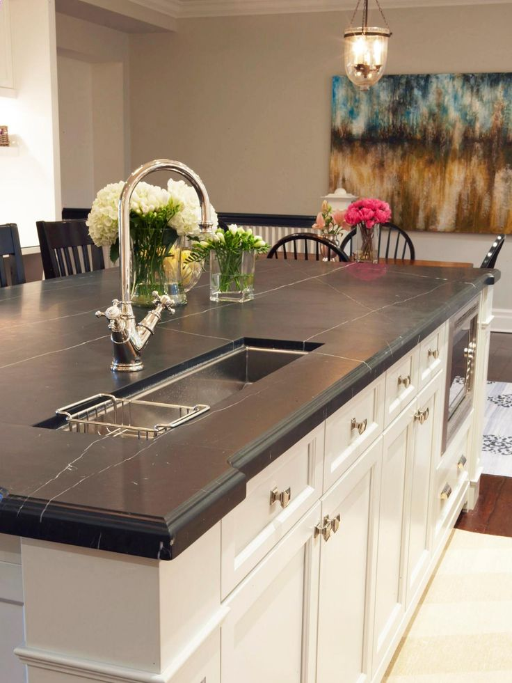 Kitchen Island Options Pictures Ideas From Hgtv: 1000+ Ideas About Soapstone Countertops Cost On Pinterest