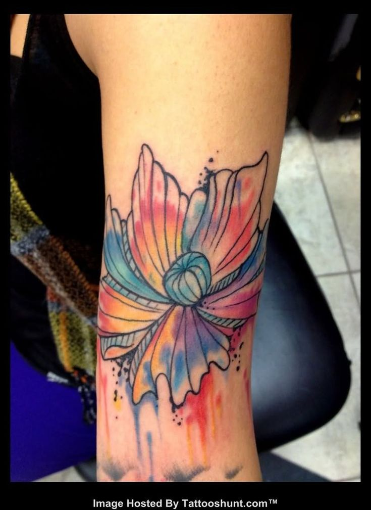 17 Best ideas about Abstract Flower Tattoos on Pinterest ...