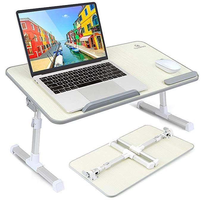 Lap Desk Table Tray For Laptop Notebook Bed Trays Phone Stand Holder Portable