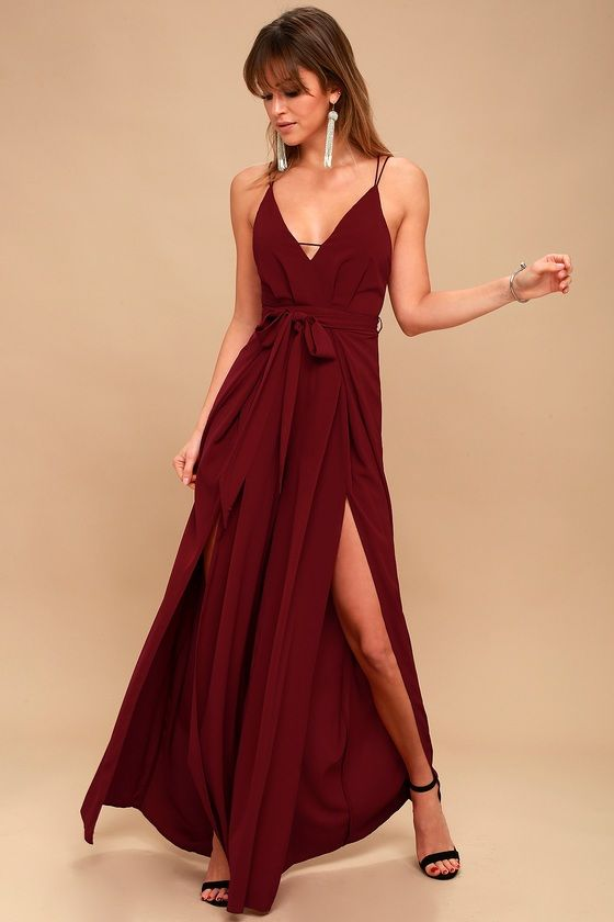 Red Backless Jumpsuit