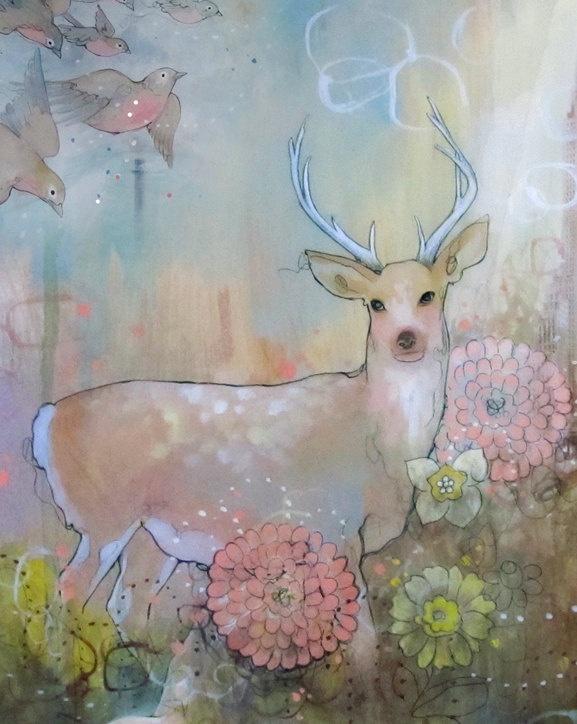 Deer by Kendra Binney