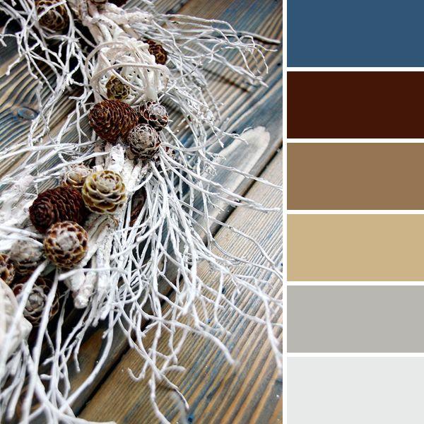 Этой Ярмарки краски: 15 новогодних цветовых палитр от мастеров портала - интерьерный венок
