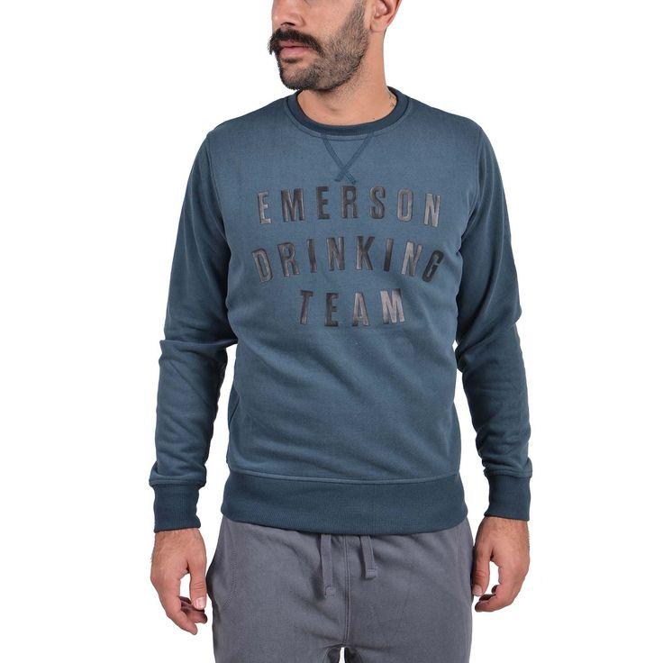 Emerson Men's neckline sweat Αθλητικα Ρουχα – Sportswear – Ανδρικά Διατίθεται από το CosmosSport.gr