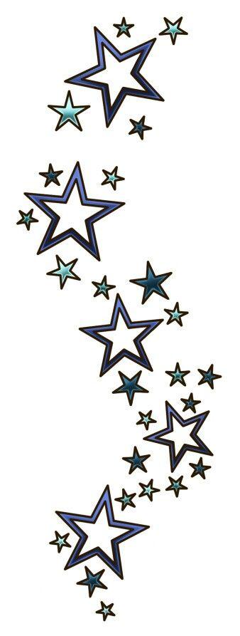 Star vertical banner