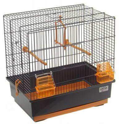 Acquisto Online Articoli per Animali - EtnaPet.it - Gabbia Roberta 2 Per Canarini Uccelli Cocoriti