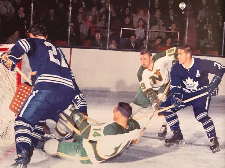 Bill Masterton of the Stars, Tim Horton of the Leafs.