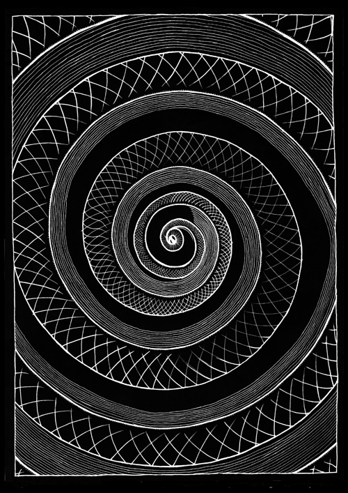 Absolut Aeternal Mindfvcking by Victor Dunkel from Barcelona, Spain.:  Whorl,  Helix,  Spirals