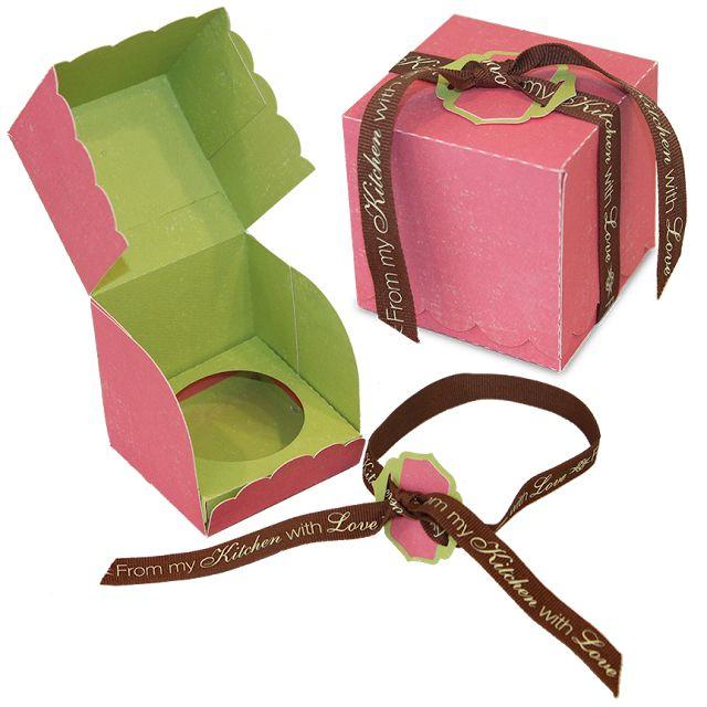 tutorial caja para cupcake