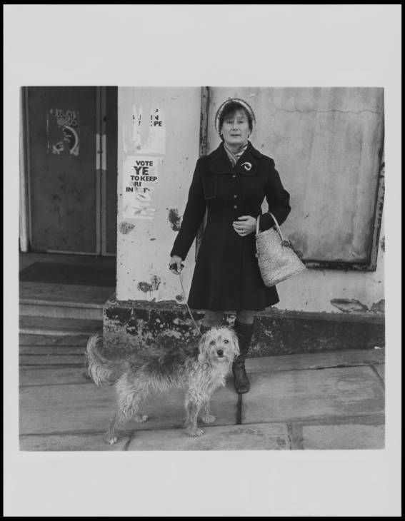 Keith Arnatt, 'Walking the Dog' 1976-9