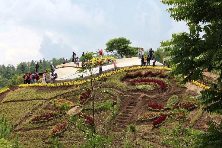 Harga Tiket Masuk Dan Alamat Bukit Bulu Flower Garden Malang, Spot Wisata Ngadem Nan Unik Terbaru