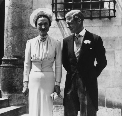 Eduardo VIII, después duque de Windsor, y Wallis Simpson