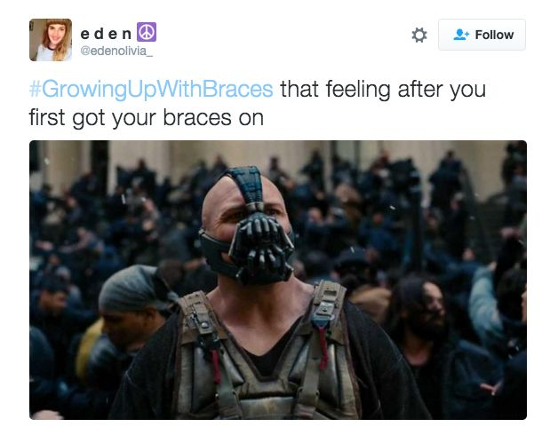 21 Tweets That People Who Grew Up Wearing Braces Will Find Painfully True