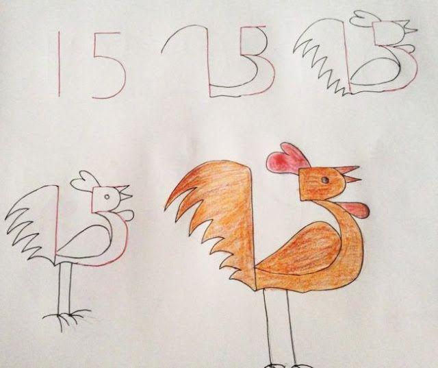 Μάθετε το παιδί να ζωγραφίσει με αριθμούς!