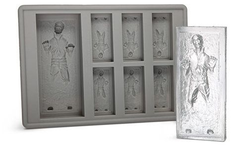 ThinkGeek :: Star Wars Han Solo in Carbonite Ice Cube Tray