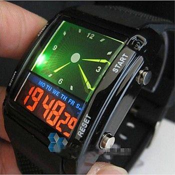 [$5.85] Men's Watch Quartz Analog Wrist Watch Sport Watch Alarm Calendar