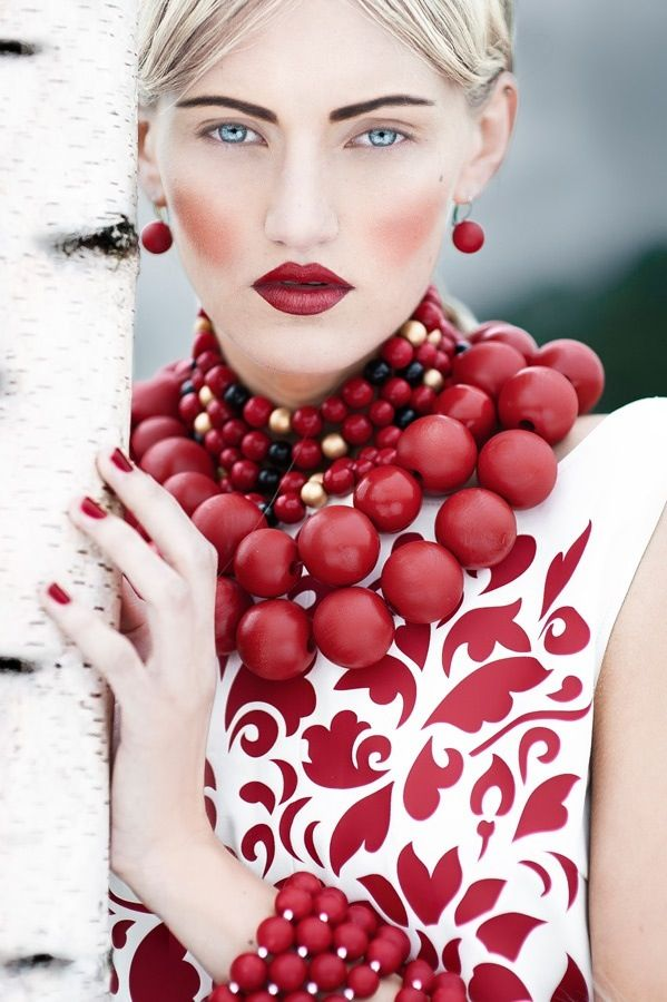 Red Baubled Luxe